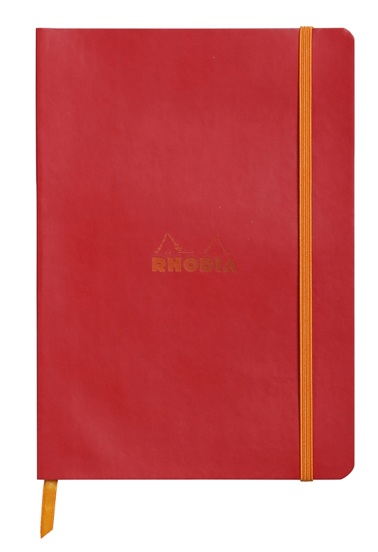 Rhodiarama A5 Softcover Notebook Dot Grid - Poppy