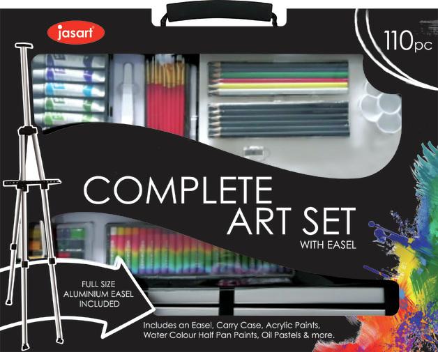 Jasart: Complete Art Set (110pc)
