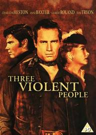 Three Violent People  on DVD