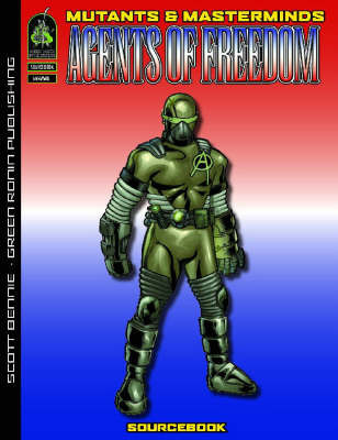Agents of Freedom: A Mutants and Masterminds Sourcebook by Scott Bennie image