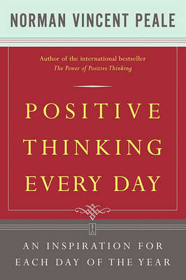 Positive Thinking Every Day by Norman Vincent Peale image