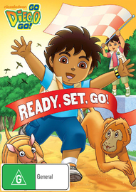 Go Diego Go!: Ready, Set, Go! on DVD image