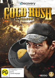 Gold Rush - Season 4 on DVD