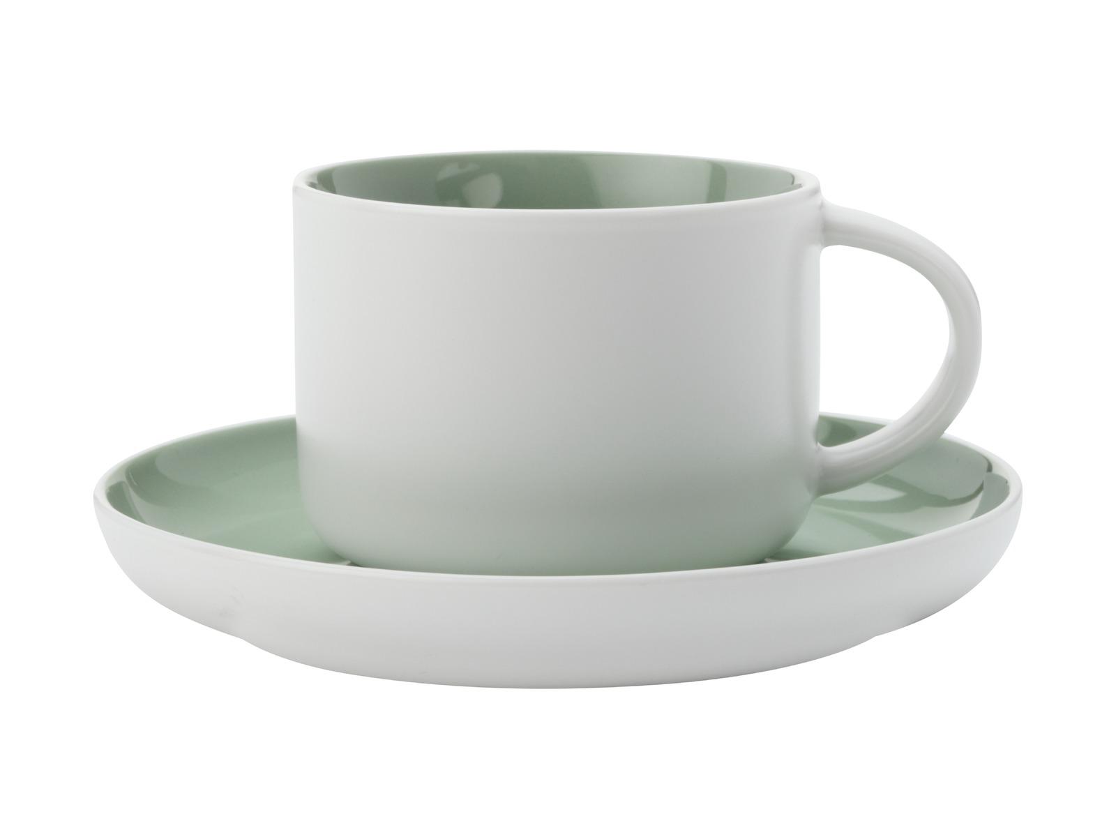 Maxwell & Williams - Tint Tea Cup & Saucer Mint (250ml) image