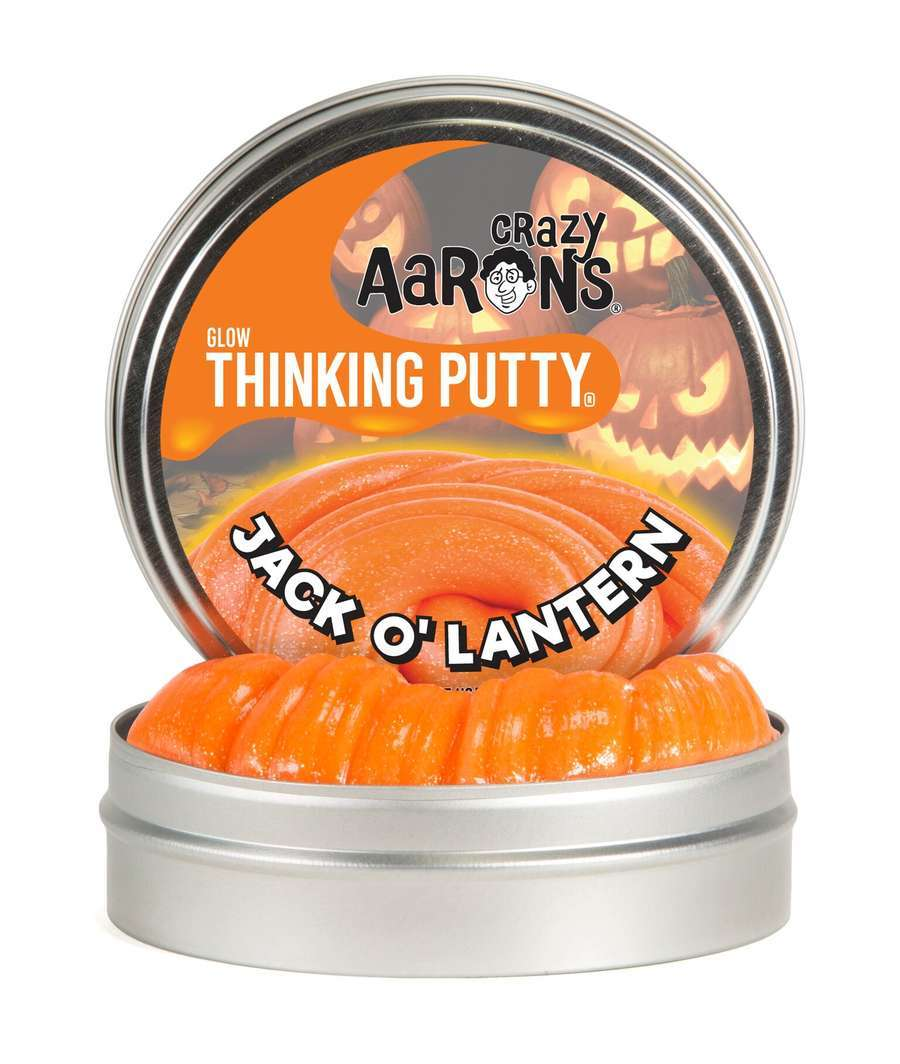 Crazy Aaron's Thinking Putty: Halloween - Jack O'Lantern image