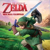 Nintendo: Zelda 2019 Square Wall Calendar