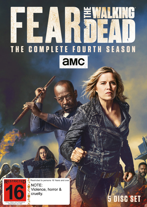 Fear The Walking Dead: The Complete Fourth Season on DVD