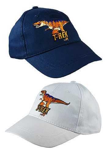 T-Rex Dinosaur: Kids Baseball Cap