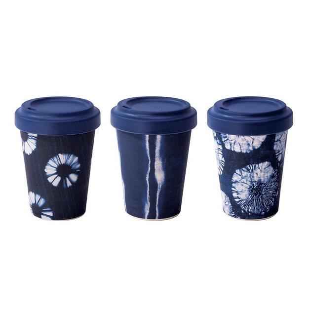 IS Gift: eCup - Bamboo Tie Dye Prints Asst