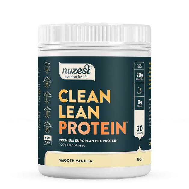Clean Lean Plant Based Protein - Smooth Vanilla (500g)
