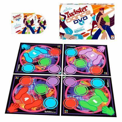 Twister Dance DVD Game image