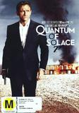 Quantum of Solace on DVD