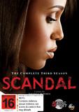 Scandal - The Complete Third Season DVD