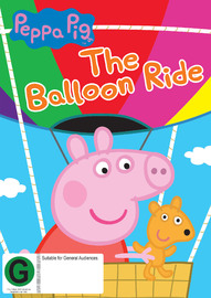 Peppa Pig: Balloon Ride on DVD