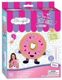 My Studio Girl: Foodie Pillows - Doughnut Sewing Kit