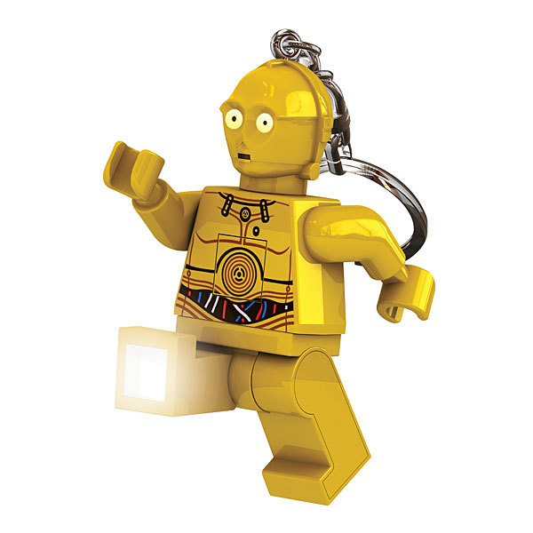 LEGO Star Wars Keyring LED Light - C3PO