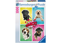 Ravenburger - Dogs Pop Art Puzzle (1000pc)