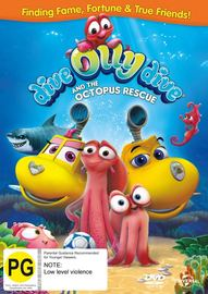Dive Olly Dive & The Octopus Rescue on DVD