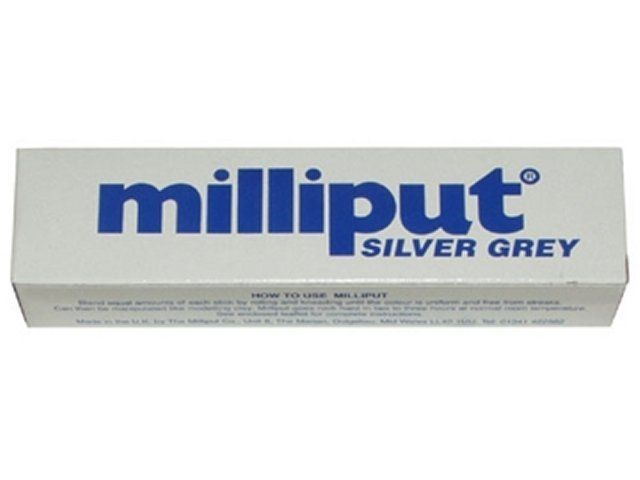 Milliput Silver/Grey Epoxy Putty image