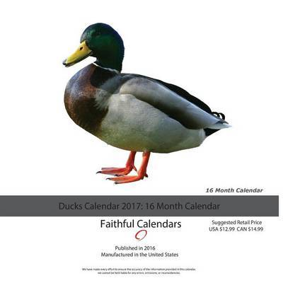 Ducks Calendar 2017 by David Mann image
