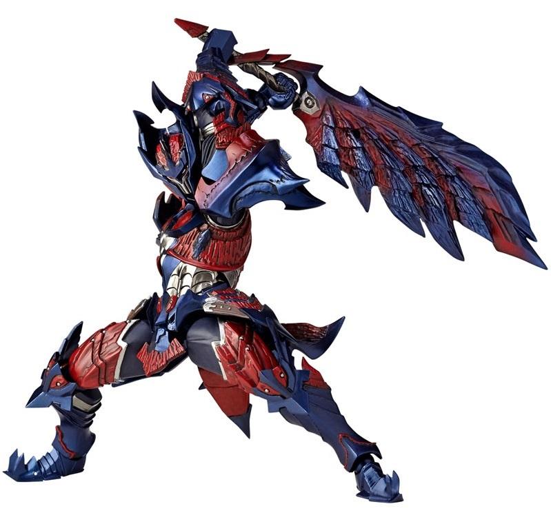 Monster Hunter: Vulcanlog Glavenus Hunter - Action Figure image