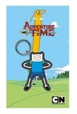 Adventure Time: Rubber Keychain Finn (7cm)