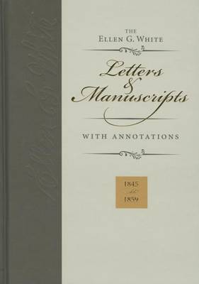 Ellen G. White Letters & Manuscripts with Annotations by Ellen Gould Harmon White image