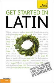 Get Started In Latin: Teach Yourself by G.D.A. Sharpley image
