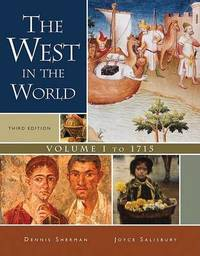 The West in the World, Volume I: To 1715 by Sherman image