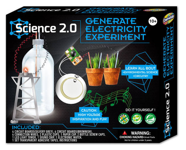 Science 2.0: Generate Electricity Experiment - Science Kit
