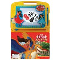Elena of Avalor – Learning Book With Magnetic Drawing Pad
