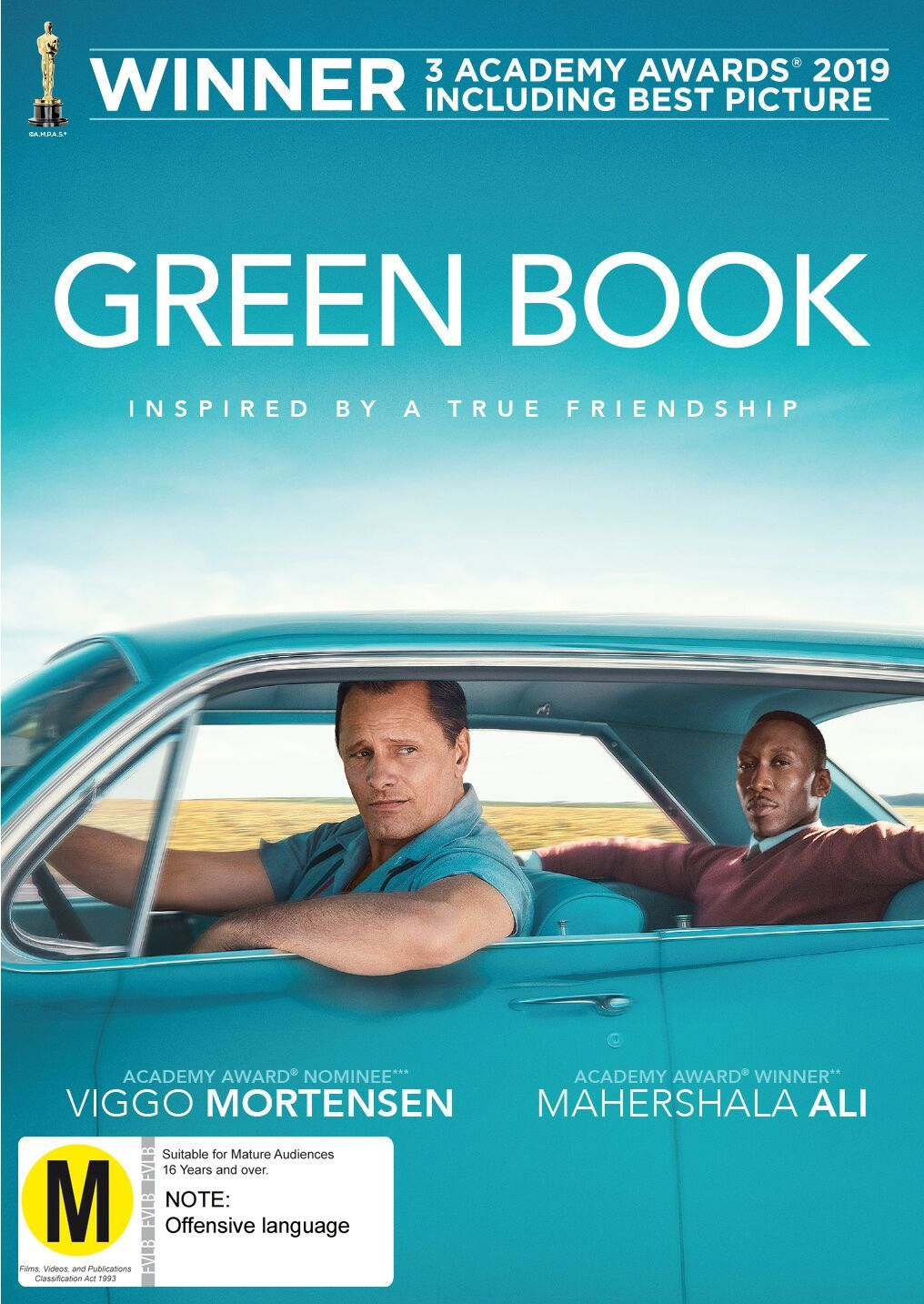 Green Book on DVD image