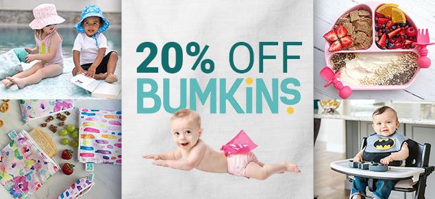 Bumkins - 20% Off