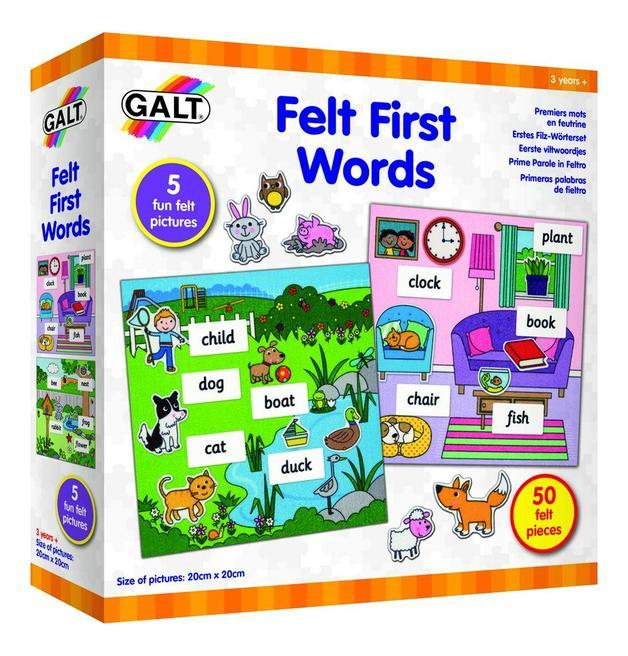 Galt: Felt First Words - Playset