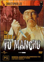 The Brides Of Fu Manchu on DVD