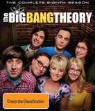 The Big Bang Theory - The Complete Eighth Season DVD