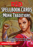 D&D: Monk Traditions Deck (19 Cards)