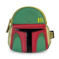Loungefly Star Wars Boba Fett Face Coin Bag
