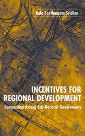 Incentives for Regional Development by K. Sridhar image