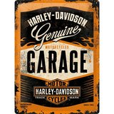 Retro Harley Davidson Garage Metal Sign