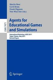 Agents for Educational Games and Simulations