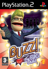 Buzz!: The BIG Quiz with buzzers for PlayStation 2