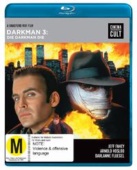 Darkman III: Die Darkman Die on Blu-ray