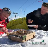 CasusGrill - Single Use Grill Box BBQ image