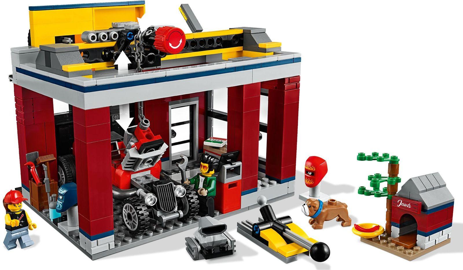 LEGO City - Tuning Workshop image
