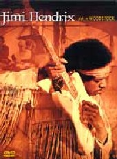 Jimi Hendrix - Live At Woodstock on DVD