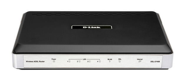 D-Link DSL-2740B ADSL Wireless RangeBooster-N Router