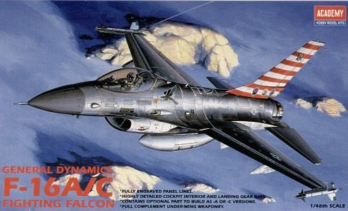 Academy F-16A/C Fighting Falcon 1/48 Model Kit