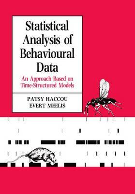 Statistical Analysis of Behavioural Data by Patsy Haccou image