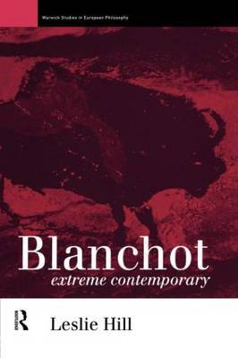 Blanchot by Leslie Hill